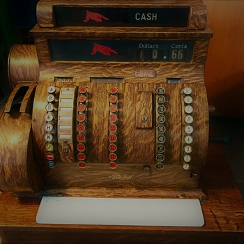 NCR 852 Antique Cash Register, aka 'Johnny Cash'
