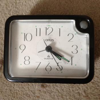 80's-90's Lorus alarm clock.