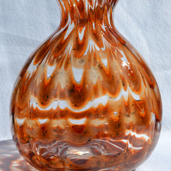 "Kralik ""Zigzag"" large vase - Art Glass"