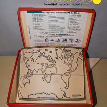 Large Map Stamp - Germany