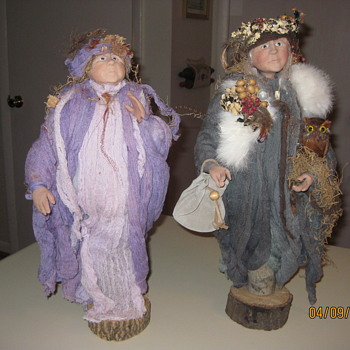 Folk Art Wisemen