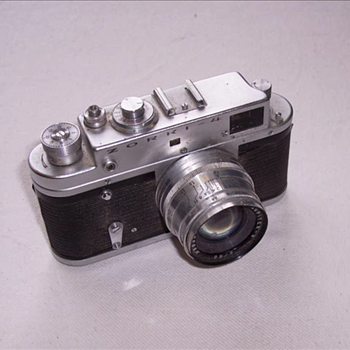 1968-camera-zorki 4-russian leica copy. - Cameras