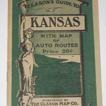 Kansas Map 1917