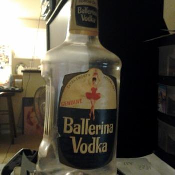 Ballerina Vodka Empty Bottle - Bottles