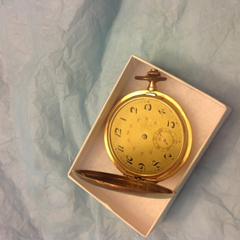 14 k gold watch - Pocket Watches