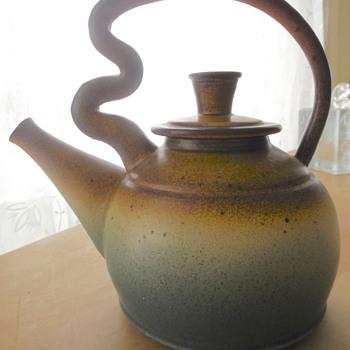 Lovely Studio Pottery Teapot - Pottery