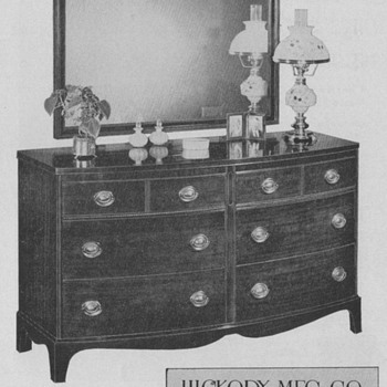 1950 Hickory Furniture Advertisements - Advertising