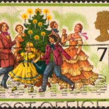 "1978 - Britain ""Christmas"" Postage Stamps - Stamps"
