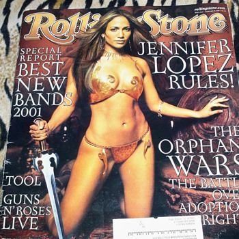 The Rolling Stone Relationship With Jennifer Lopez And The Beatles - Paper