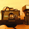 Late 1970&#039;s Polaroid ProPack camera with flash