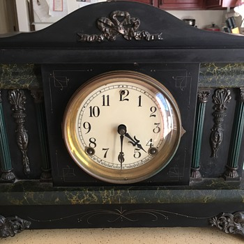 My Sessions Mantel Clock