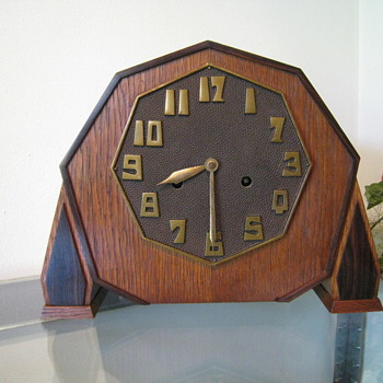 c. 1920's Art Deco Bauhaus Clock #2