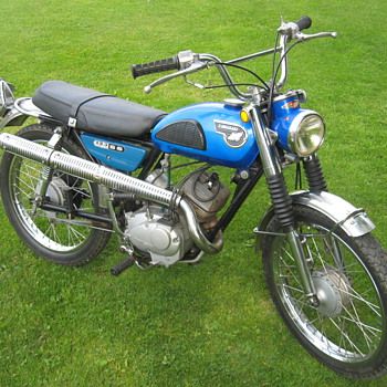 1967-68 Kawasaki C2SS 120 RoadRunner scrambler - Motorcycles