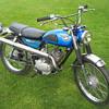 1967-68 Kawasaki C2SS 120 RoadRunner scrambler
