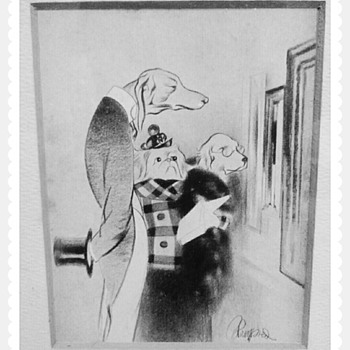 Edmund Blampied print - Posters and Prints