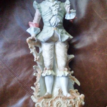 Antique Porcelain German Figurine - Figurines