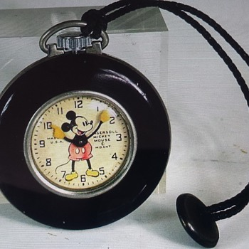Ingersoll Mickey Mouse Lapel watch