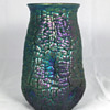 "Loetz Cobalt ""Phänomen Genre 377"" Vase. 6.25"" Tall. Circa 1900"