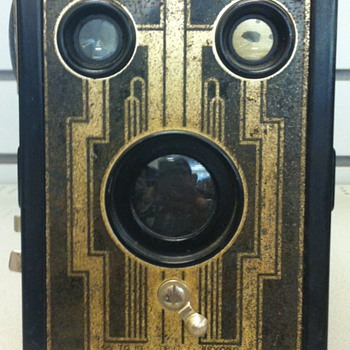 Six-6 Brownie camera.