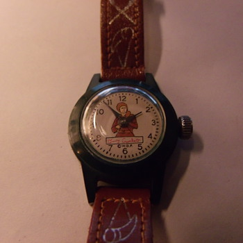 1955 WDP US Time Davy Crockett Wrist Watch - Wristwatches