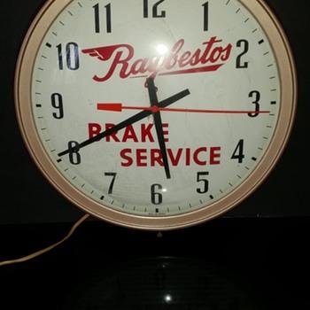Raybestos Clock