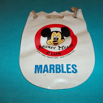 MICKEY MOUSE CLUB MARBLE BAG - Games