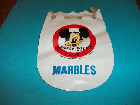 Mickey Mouse Club Marble Bag Collectors Weekly