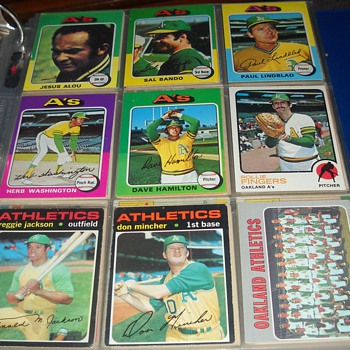 Oakland A's and Mr. October - Baseball