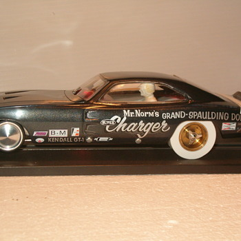 "1/24th ""MR NORMS"" 69 dodge charger K&B CHASSIS"