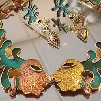 Maya Mexico!   - Costume Jewelry
