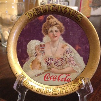 1903 Coca-Cola Change Tray - Coca-Cola