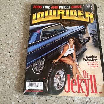 2005 Lowrider Magazine - Paper
