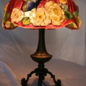 My Rare Pairpoint Papillon Puffy Lamp - Lamps