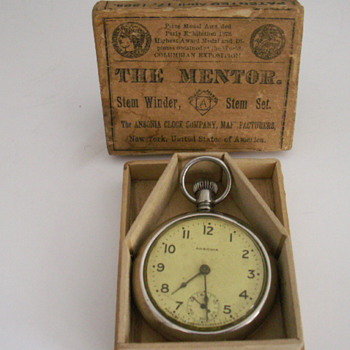 The Ansonia Clock Co. - Pocket Watches