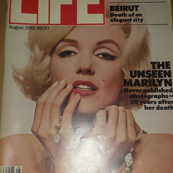 August 1st 1982 Life Magazine  - Paper
