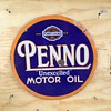 "Penno ""Unexcelled""Motor Oil"
