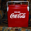 Antique Coca-Cola Picnic Cooler