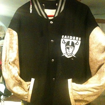 1967 Oakland Raiders first super bowl jacket - Football