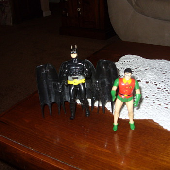 vintage batman and robin - Toys