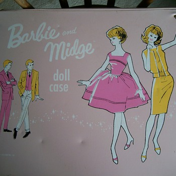 Barbie and Midge Travel Case