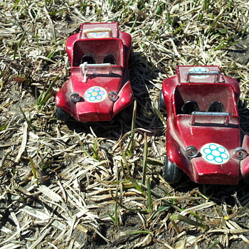 Unknown Hong Kong Diecast Dune Buggies.