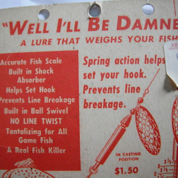 Well I'll Be Damned Fishing Lure - Fishing