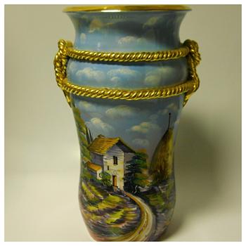 Italian Floor Vase, Circa 20 Century
