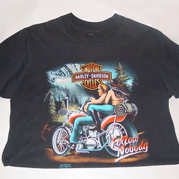 Vintage Harley T Shirts Hourglassvintageboutique on eBay