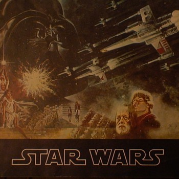 Star Wars Theater Promotional Booklet 1977