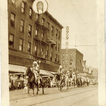 Indian Congress, Spokane 1926 - Photographs