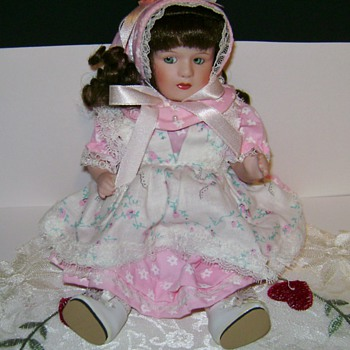 Paradise Galleries Porcelain Doll - Dolls