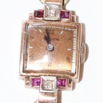 Antique Gruen Watch (Ladies) - Wristwatches
