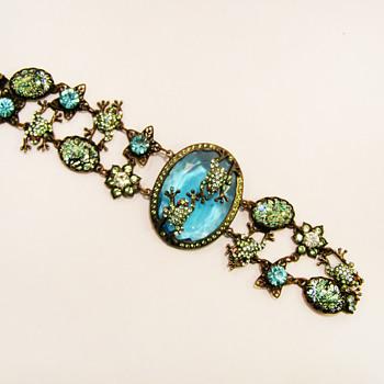 Vintage Frog Pond Bracelet