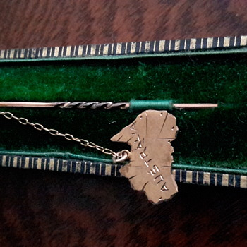 Australian antique stick pin by J.Perryman